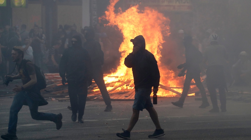 G-20 protesters
