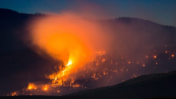 Climate change making wildfires more 'extreme': professor
