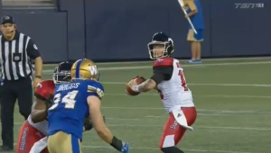 Stampeders quarterback Bo Levi Mitchell is now 45-7-2 as a starter in the CFL during the regular season.