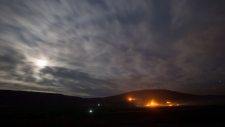 wildfire near Ashcroft, B.C.