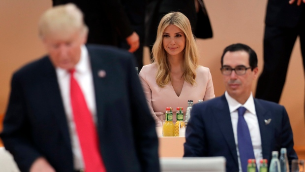 Donald Trump defends Ivanka's role at G20 with tweet about Chelsea Clinton
