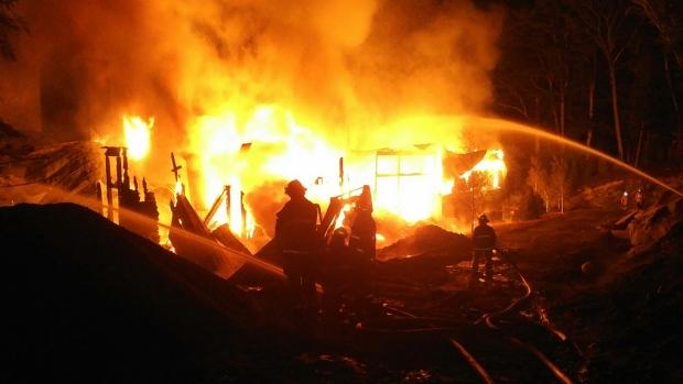 cottage fire muskoka