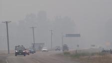 Yellowhead Highway smoke