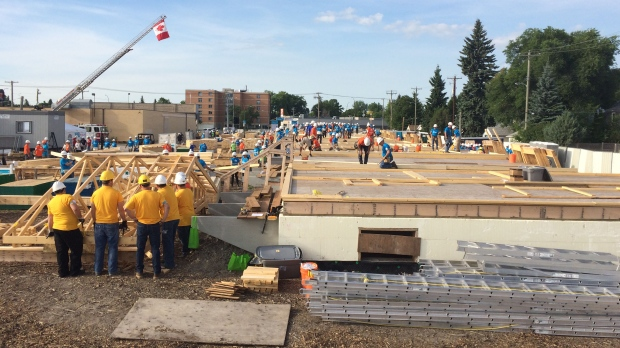 Habitat for Humanity volunteers gear up to build homes in Winnipeg