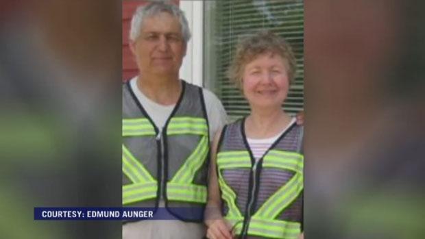 Edmund Aunger and Elizabeth Solvis