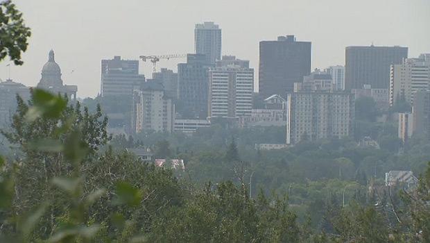 Smoke in Edmonton