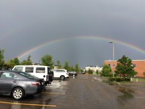 Taken in the parking lot at the SaskTel Soccer Centre on June 28. (Diane Seymour)