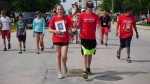Photos from the 2017 Canada Games torch relay in The Pas on Monday.