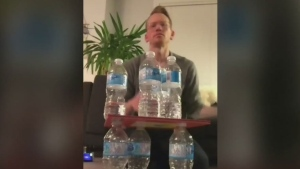 CTV Montreal: Bottle flipping