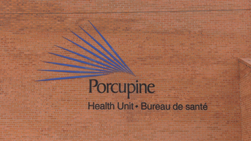 Porcupine Health Unit in Timmins. Apr/20 (Lydia Chubak/CTV Northern Ontario)