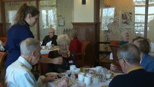 Seniors living in long term residential care