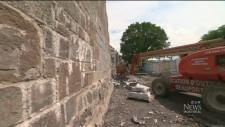 Quebec City, wall, construction