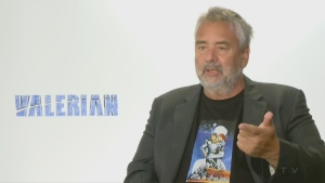 Luc Besson, writer and director of Valerian, city of a thousand planets