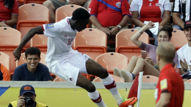 Costa Rica, Canada play 1-1 tie in Gold Cup