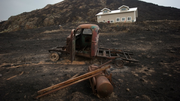Farmers warn of damage by B.C. fires