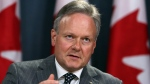 Stephen Poloz, Governor of the Bank of Canada holds a news conference concerning the rise of the bank's interest rates, in Ottawa, Tuesday July 12, 2017. THE CANADIAN PRESS/Fred Chartrand