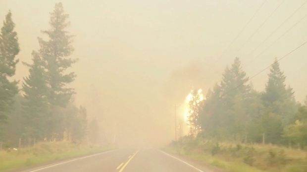 Wildfire in B.C.