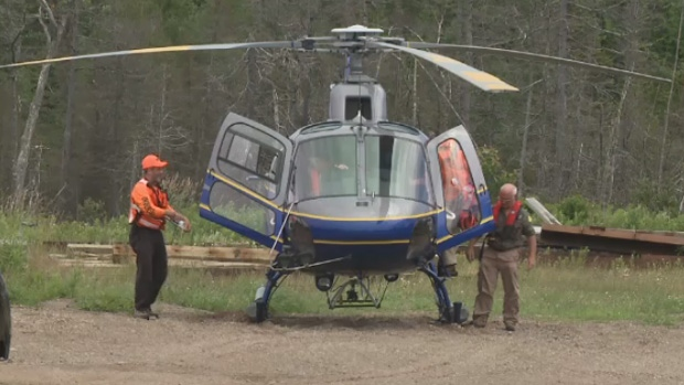 Rescue crews have been combing areas of Cape Breton's Inverness County ever since his disappearance.