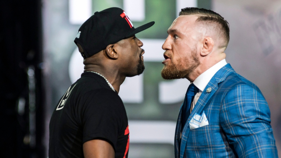 McGregor favourite in Toronto as tour with Mayweather stops in Canada