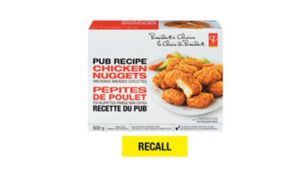 Loblaw recalls chicken nuggets