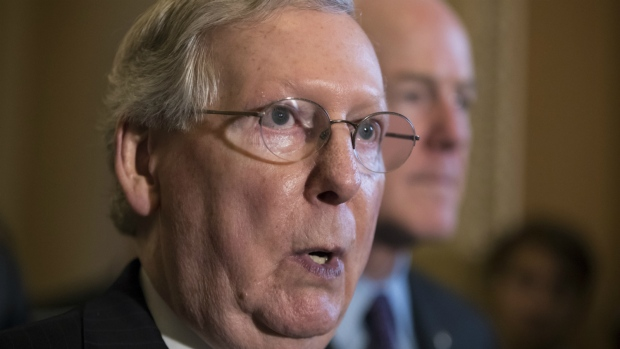 Senate Republican Leader Delays Start of August Recess