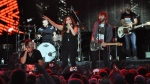 Lady Antebellum at Rock The Park in London, Ont., on Wednesday, July 12, 2017. (CTV London)