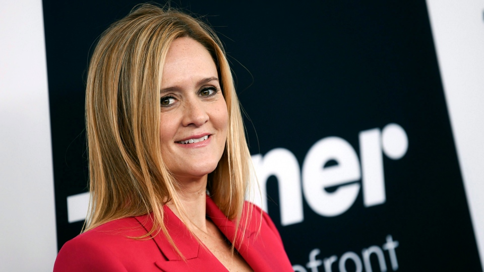 Television host Samantha Bee attends the Turner Network 2017 Upfront presentation at The Theater at Madison Square Garden on Wednesday, May 17, 2017, in New York. Toronto native Samantha Bee and Quebec's Jean-Marc Vallee are among this year's Canadian Emmy Award nominees. THE CANADIAN PRESS/AP//Invision-Evan Agostini