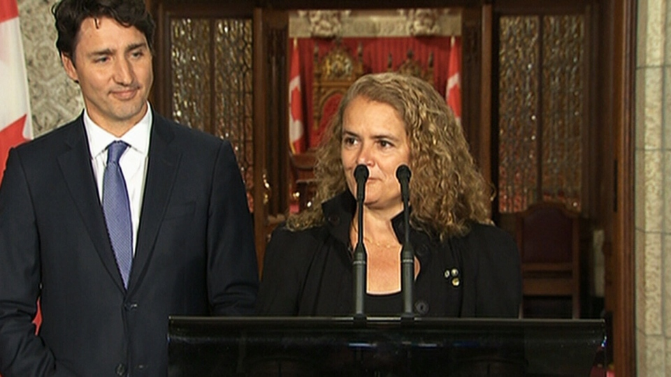 Canadian astronaut Julie Payette is named as Canada's next Governor General, Thursday, July 13, 2017.