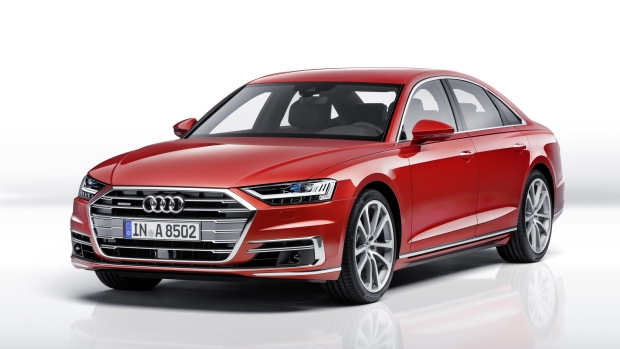 Future Forms! The 2018 Audi A8