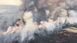 Colin Pelton took aerial footage of the Hanceville, B.C., blaze, which is burning out of control and has scorched 10,000 hectares.