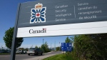A sign for the Canadian Security Intelligence Service building is shown in Ottawa on May 14, 2013. The controversial data-crunching centre run by Canada's spy agency has long been using personal details gleaned from security clearance forms to help with national security probes -- a practice that worries the federal privacy watchdog, newly disclosed letters show. The correspondence reveals that for at least five years the Canadian Security Intelligence Service's Operational Data Analysis Centre has drawn upon private information -- provided during security assessments for employment and immigration purposes -- to assist with CSIS terrorism and espionage investigations. THE CANADIAN PRESS/Sean Kilpatrick
