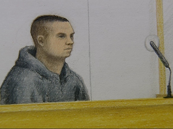 Twenty-four-year-old Cody Rae Haevischer is charged with six counts of first-degree murder and one count of conspiracy and is scheduled to appear in court again on May 15. April 6, 2009.