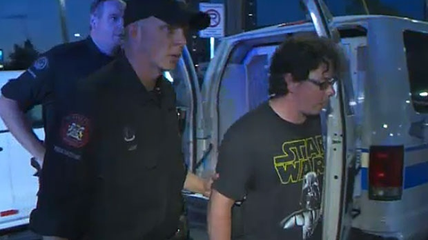 Voyeur arrest