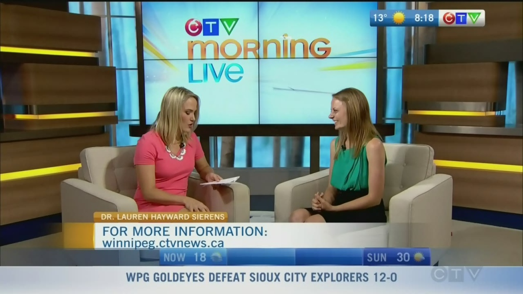 Dr  Lauren Hayward Sierens | CTV News