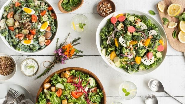 Mad Radish salads
