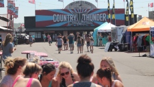 Country Thunder music festival in Craven