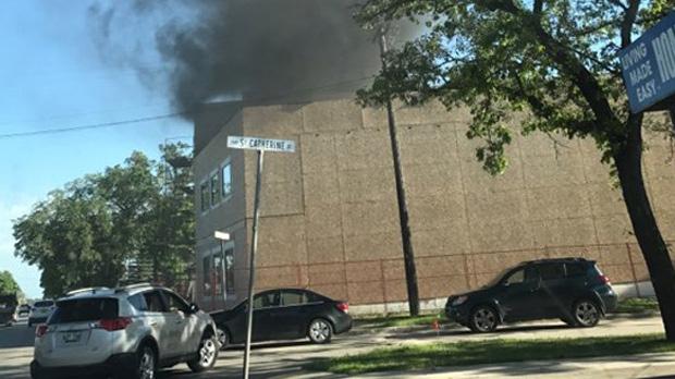 St. Boniface fire