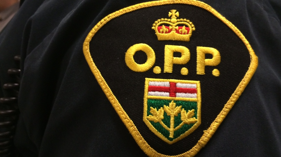 OPP badge seen in this undated file photo.