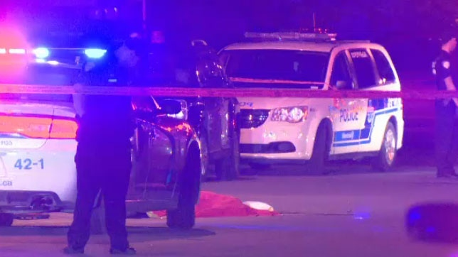 A 28-year-old man was fatally shot to death during a fight in St-Leonard on July 16, 2017. (CTV Montreal)