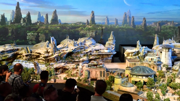 Disney Parks Star Wars lands
