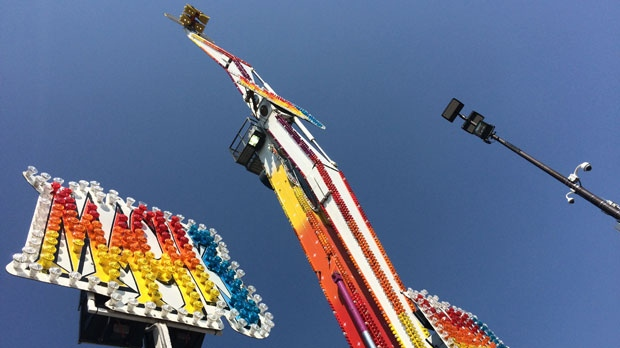 Stampede Midway S Mach 3 Reopens Following Mid Ride