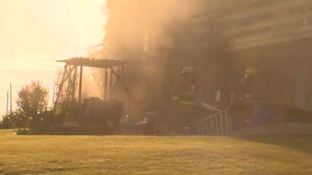 Hessen Strausse Wellesley fire