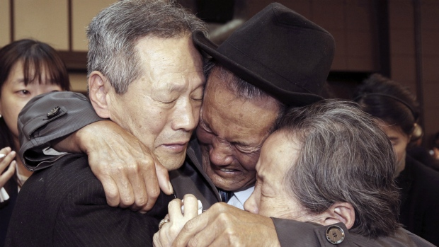 North Korean family reunions