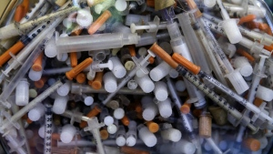 Drug crisis leads to pollution in U.S.