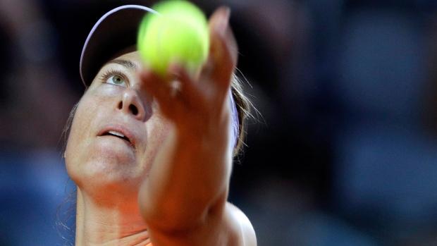 Maria Sharapova at the Italian Open