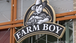 A sign for a Farm Boy store is seen in this file photo.