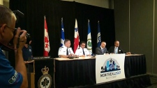CTV Montreal: Police chiefs