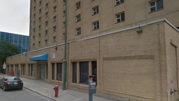 Manitoba Housing building for sale