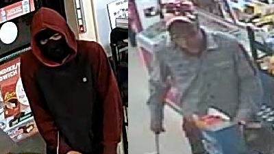 Video Surveillance Pictures from the robbery on Lauzon Road. (Courtesy Windsor police)
