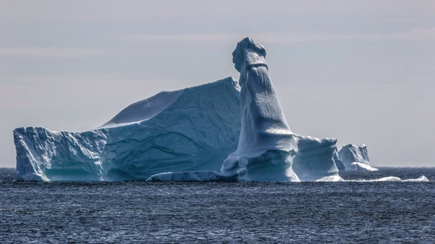 Iceberg with masculine feature